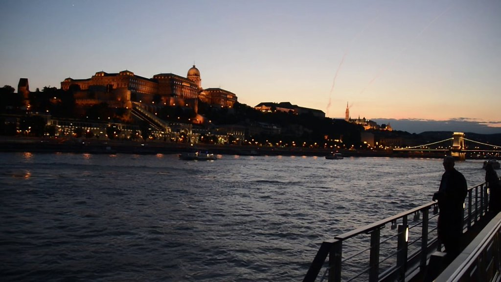 Budapest on the Danube at Dusk