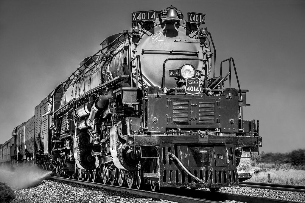Big Boy Steam Locomotive