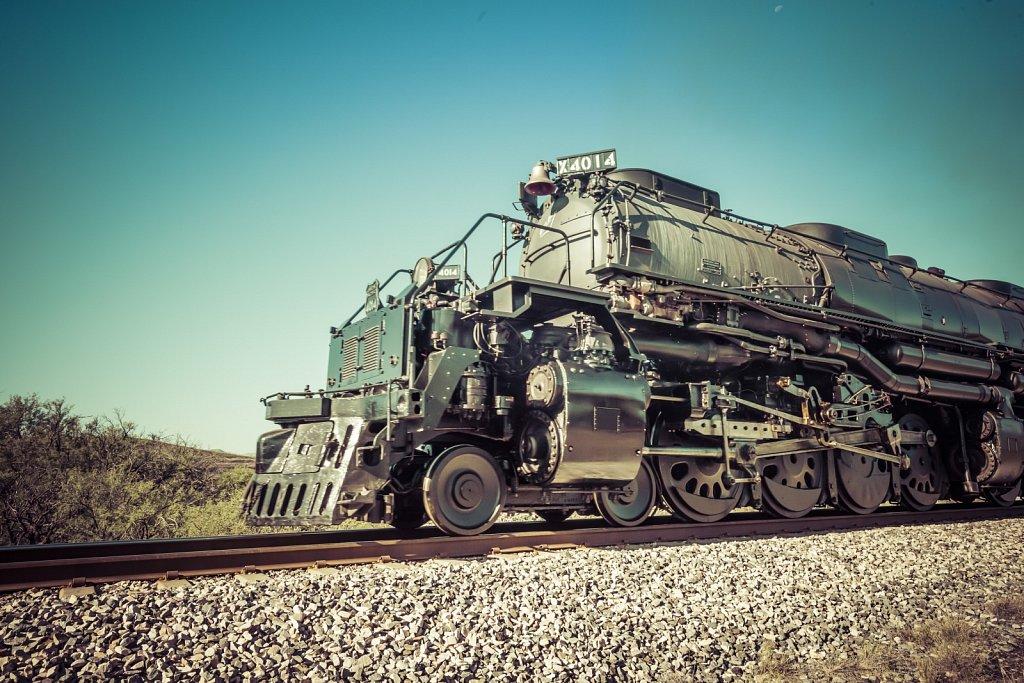 Big Boy No. 4014 Steam Locomotive